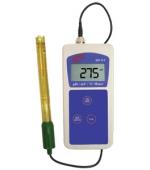 AD 111 digitális hordozható pH- (savfok) és hőmérsékletmérő