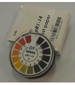 pH indikátor papír 1-14 pH, 5 méteres tekercs