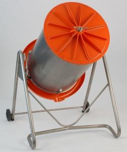 Hidraulikus prés (180 literes), megdöntve