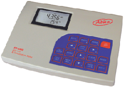 Az AD 1000 professzionális laboratóriumi mérőeszközt pH, ORP, hőmérséklet valamint relatív mV mérésére tervezték, nyomtató kapcsolható hozzá. GLP követelményeknek megfelelő!