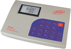AD 1020 laboratóriumi pH, ORP, ISE és hőmérséklet mérő RS232/USB interfésszel és GLP-vel
