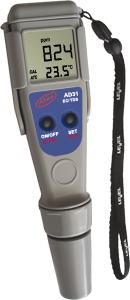 AD 31 digitális kézi vezetőképesség (EC/TDS) és hőmérséklet mérő, cseppálló