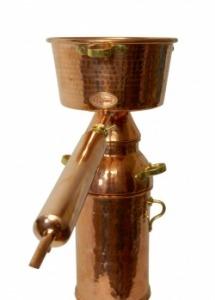Alquitara +Plus lepárló illóolajok és aromavíz kinyerésére