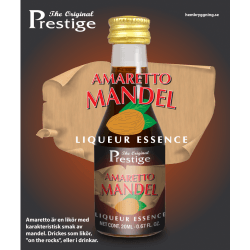 Amaretto mandulalikőr Prestige esszencia