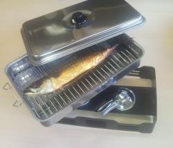 Asztali füstölő hal és kolbász füstöléséhez