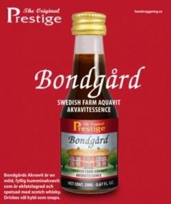 Bongard Akvavit Prestige esszencia