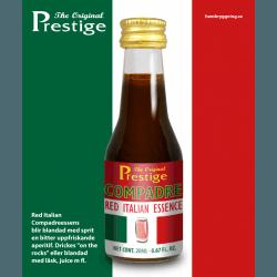 Compadre Italian Bitter Prestige esszencia (campari-hoz hasonló)