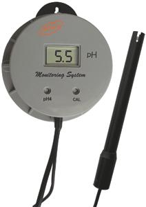ECO 209 pH-mérő monitor, folyamatos üzemre