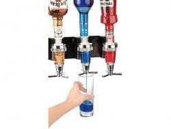 Fali mixerállvány 4 üveghez