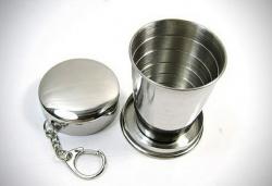 Kulcstartó feles pohár