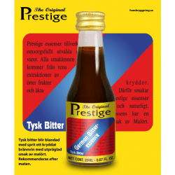 German Bitter Prestige esszencia - német gyomorkeserű likőr