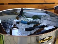Nemesacél gyűjtőedény, 50 literes, SPEIDEL mint pezsgő- vagy borhűtő