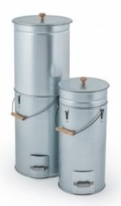 Kültéri mobil füstölő szekrény, kihúzható-összecsukható