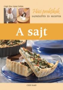 Sajt, sajtkészítés és receptek könyv