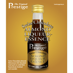Svájci Mandulás Csokoládélikőr Prestige esszencia