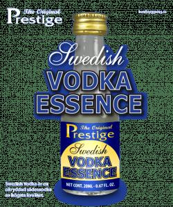Svéd vodka Prestige esszencia