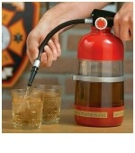 Ital adagoló poroltó tűzoltóknak