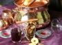 Krampampuli készítő szett vörösrézből