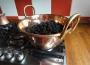 Lekvárfőző edény vörösrézből